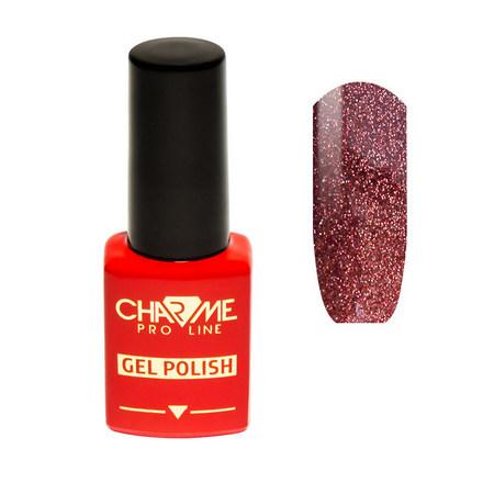 Купить CHARME Pro Line, Гель-лак № 187, Перламутровый кварц, Красный