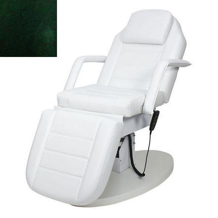 Купить Мэдисон, Косметологическое кресло «Элегия-02», изумрудно-черное глянцевое