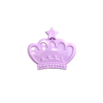 TNL, Рамочка для типс корона, сиреневая