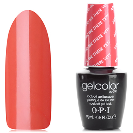 OPI GelColor, Гель-лак Are We There Yet? T23