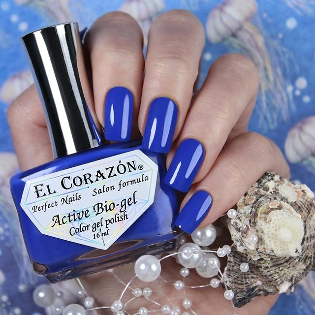 Купить El Corazon, Активный биогель Cream, №423/351, Синий