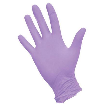 Купить Nitrimax, Перчатки нитриловые сиреневые, размер S, 100 шт.