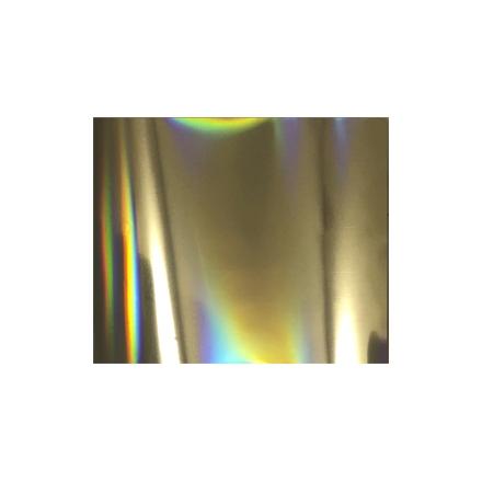 Vogue Nails, Фольга «Золотая голография»Переводная фольга<br>Материал для выполнения дизайна в технике «Литье».