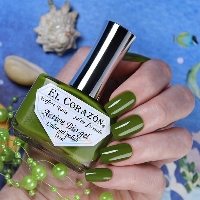 Купить El Corazon, Активный биогель Cream, №423/350, Зеленый