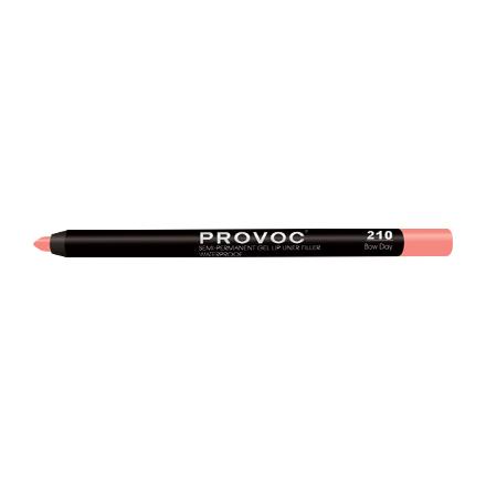 Provoc, Гелевая подводка-карандаш для губ №210, Bow Day, цвет бежево-лососевый