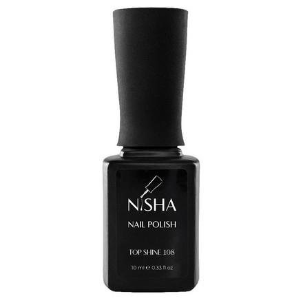 Купить NISHA, Топ для гель-лака Shine, 10 мл