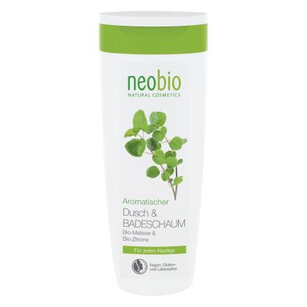Купить Neobio, Гель для душа и пена для ванны Bio-Melisse & Bio-Zitrone, 250 мл