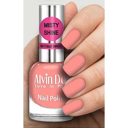 Купить Alvin D`or, Лак Misty shine №523, Alvin D'or, Коралловый