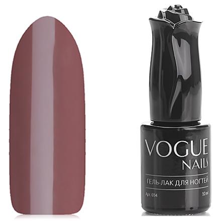 Vogue Nails, Гель-лак ЭспрессоVogue Nails<br>Гель-лак (10 мл) цвет какао с молоком, без блесток и перламутра, плотный.