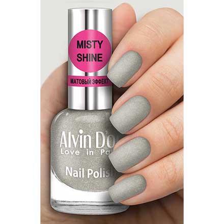 Купить Alvin D`or, Лак Misty shine №510, Alvin D'or, Серый