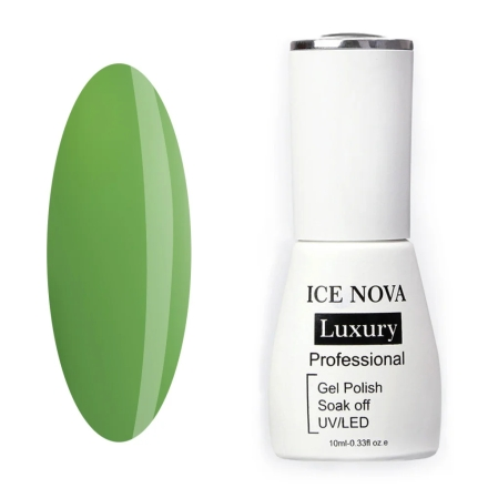 Купить Ice Nova, Гель-лак Luxury №051, Зеленый