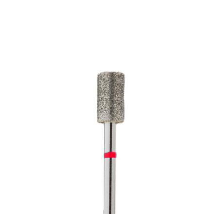 Алмазная насадка 62, красная (мягкая жесткость), D=5 мм