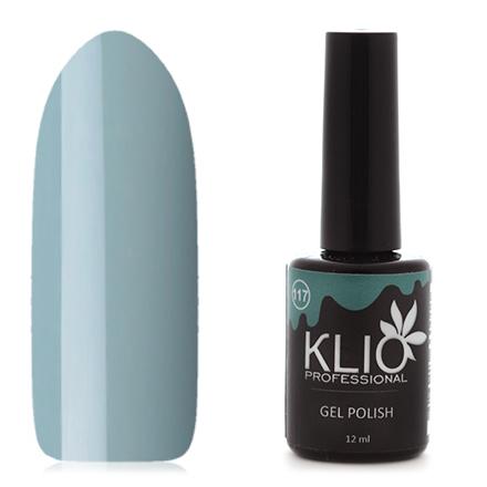 Klio Professional, Гель-лак №117Klio Professional<br>Гель-лак (12 мл) стальной серый, без перламутра и блесток, плотный.<br><br>Цвет: Черный<br>Объем мл: 12.00