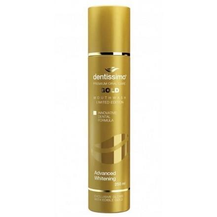 Dentissimo, Ополаскиватель Advanced Whitening Gold, 250 мл
