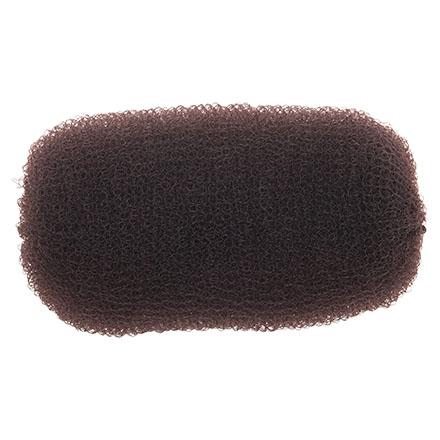 Dewal, Валик-сетка для прически, коричневый, 12 см недорого