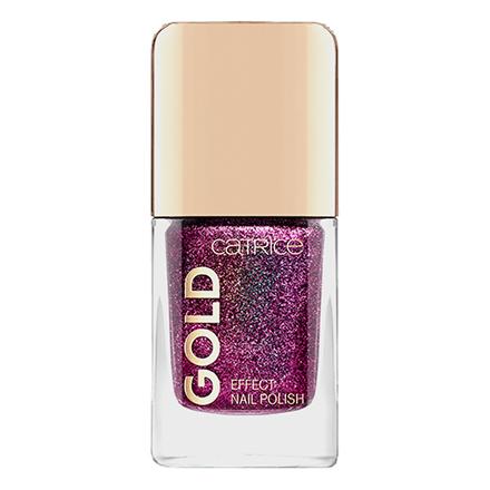 CATRICE, Лак для ногтей Gold Effect №07, Lustrous Seduction, Фиолетовый  - Купить