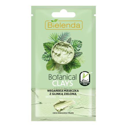 Купить Bielenda, Маска для лица с зеленой глиной Botanical Clays, 8 г