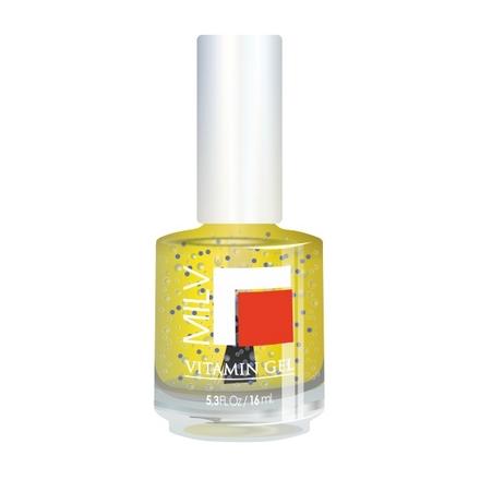 Milv, Гель витаминный для роста ногтей, Сочный Лимон (MILV)