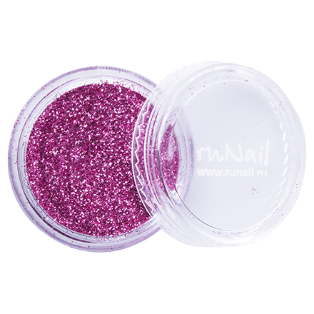 ruNail, дизайн для ногтей: блестки 0643 (Темно-розовый) от KRASOTKAPRO.RU