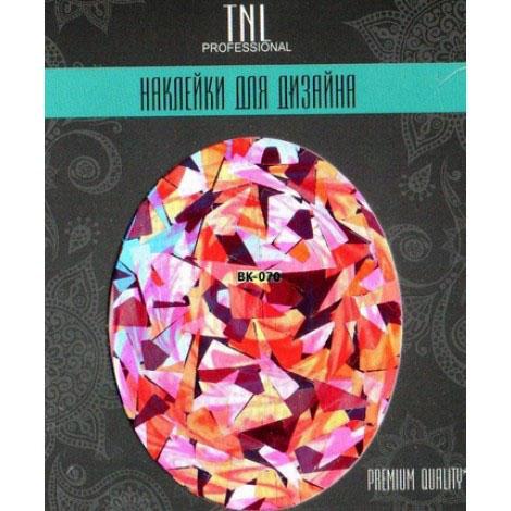 TNL, Наклейка-фольга Premium Quality BK-070