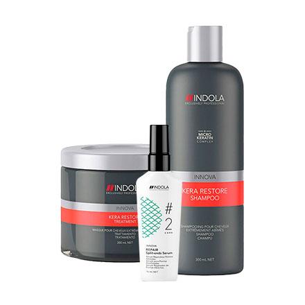 Indola, Набор для восстановления волос фото