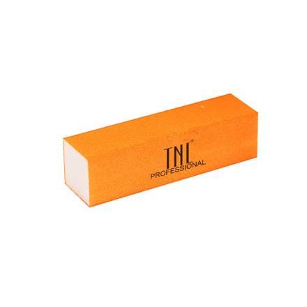 TNL, Баф неоновый оранжевыйПилки для искусственных ногтей<br>Баф для шлифовки натуральных и искусственных ногтей.