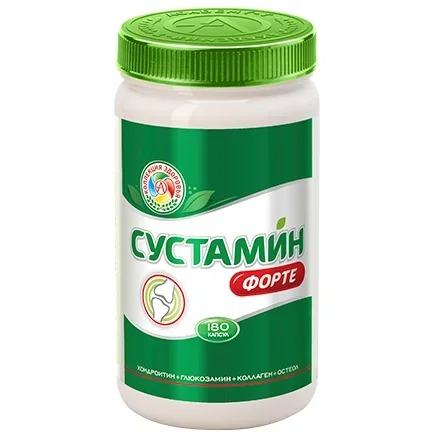 Купить Академия-Т, Препарат для суставов и связок Sustamin Forte, 180 капсул