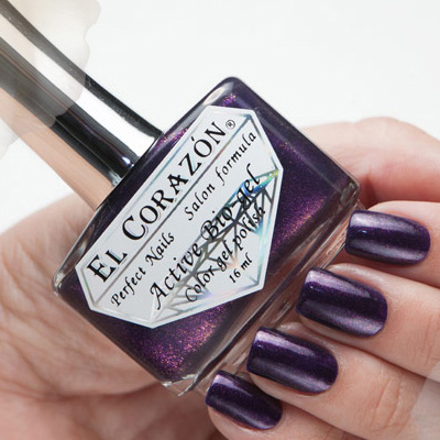 El Corazon Лечебная Серия Цветной Биогель, № 423/580, Фиолетовый  - Купить