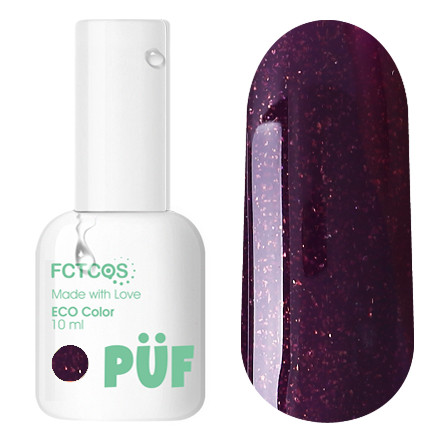Купить Puf, Гель-лак Eco №075, PÜF, Фиолетовый