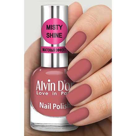 Alvin D`or, Лак Misty shine №539 Alvin D'or розового цвета