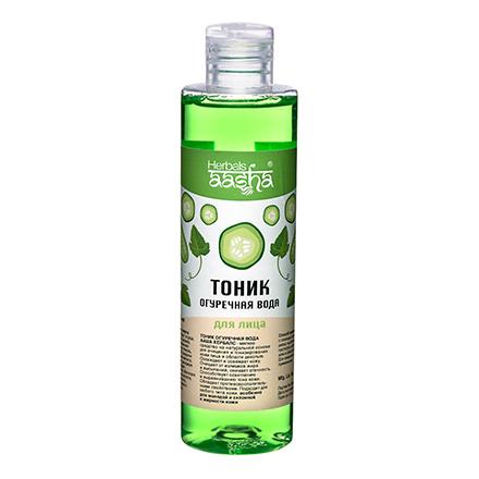 Aasha Herbals, Тоник с огуречной водой для лица, 200 мл фото