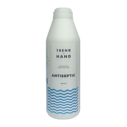 Купить Trend&Hand, Средство Antiseptic №0101, 1000 мл, Trend&Hand Professional