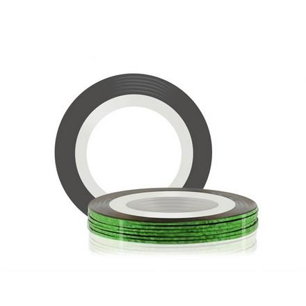 Купить RuNail, Самоклеющаяся лента для дизайна ногтей, зеленая, 20 м
