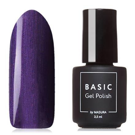 Masura, Гель-лак Basic №294-446М, УльтрафиолетMasura трехфазный шеллак<br>Гель-лак (3,5 мл) насыщенный фиолетовый, с перламутром, плотный.<br><br>Цвет: Фиолетовый<br>Объем мл: 3.50