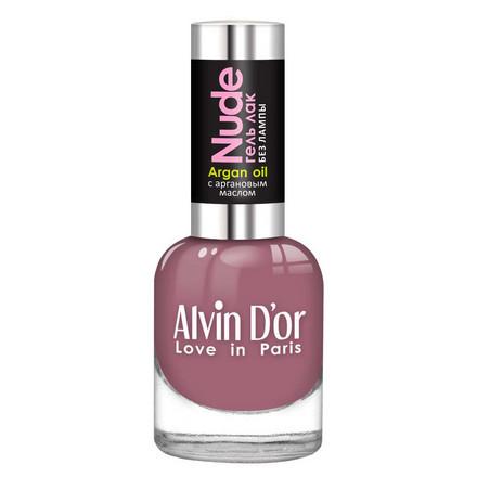 Купить Alvin D'or, Лак-гель Nude №13, Сиреневый