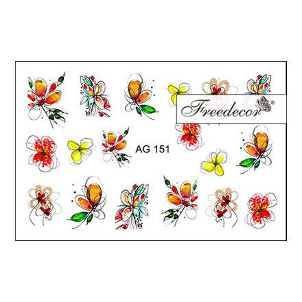 Купить Freedecor, Слайдер-дизайн «Аэрография» №151
