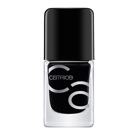 CATRICE, Лак для ногтей ICONails №20, Black To The Routes, Черный  - Купить