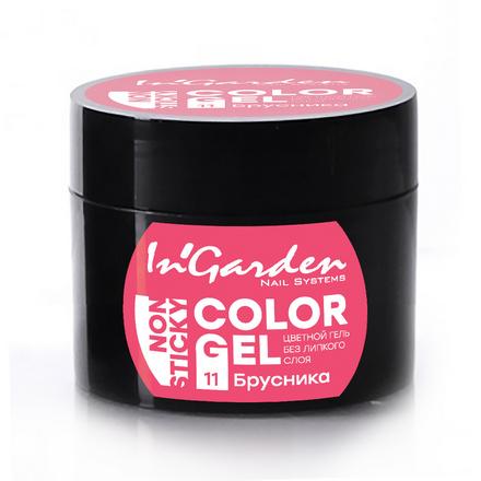 Купить In'Garden, Гель-краска для ногтей №11, Брусника, Розовый