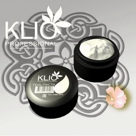 Klio Professional, Гель-паста, белаяГель-паста<br>Гель-паста для дизайна ногтей (5 мл).<br><br>Объем мл: 5.00