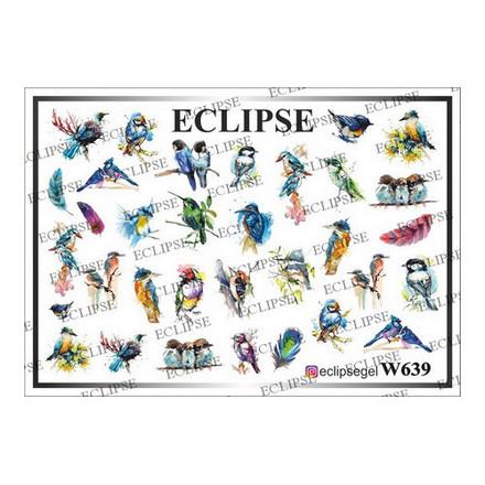 Eclipse, Слайдер-дизайн для ногтей W №639  - Купить