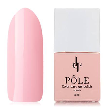 POLE, База Color base №11Базы для шеллака<br>Камуфлирующее базовое покрытие, база (8 мл). Цвет: светло-розовый, без перламутра и блесток, плотный.<br><br>Цвет: Розовый<br>Объем мл: 8.00