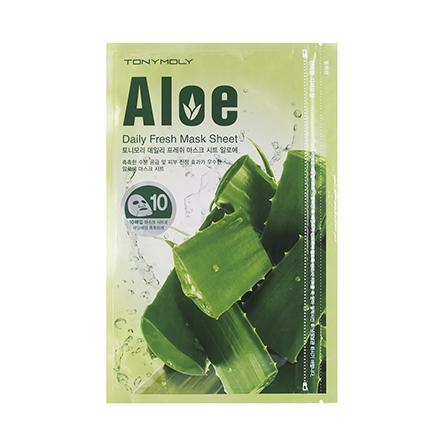 Купить Tony Moly, Маска для лица Daily Fresh Aloe, 10 шт.