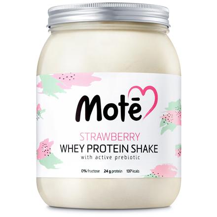 Mote, Сывороточный протеин «Клубника», 617 г