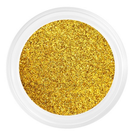 Patrisa nail, Пыльца для втирки №4 (золотая, шиммер)