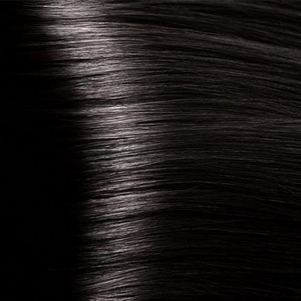 Kapous, Крем-краска для волос Hyaluronic 3.00, темно-коричневый интенсивный, 100 мл краска для волос kapous professional hyaluronic acid hair color серебро