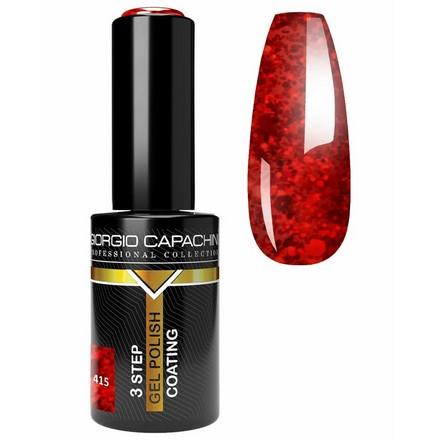 Купить Giorgio Capachini, Гель-лак Classic №415, Красный