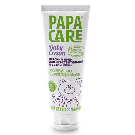 Купить Papa Care, Детский крем для чувствительной кожи, 100 мл