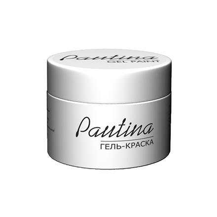 RuNail, Гель-краска Pautina, белаяГель-краски RuNail<br>Краска для дизайна ногтей с липким слоем (5 г).