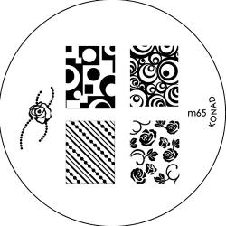 Konad, диск для стемпинга М65 konad m19