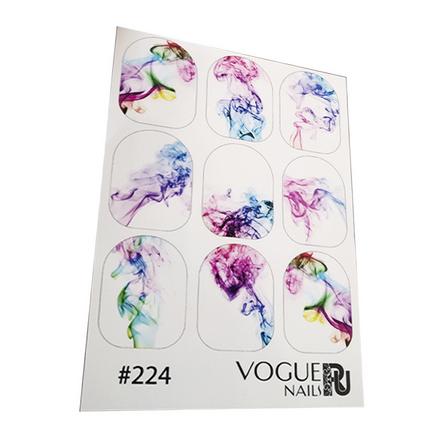 Купить Vogue Nails, Слайдер-дизайн №224